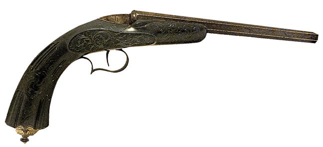 Pistol - long barrel