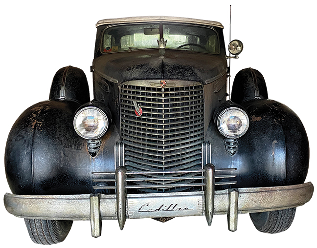 1939 90 series 16-cylinder Cadillac Sedan Convertible