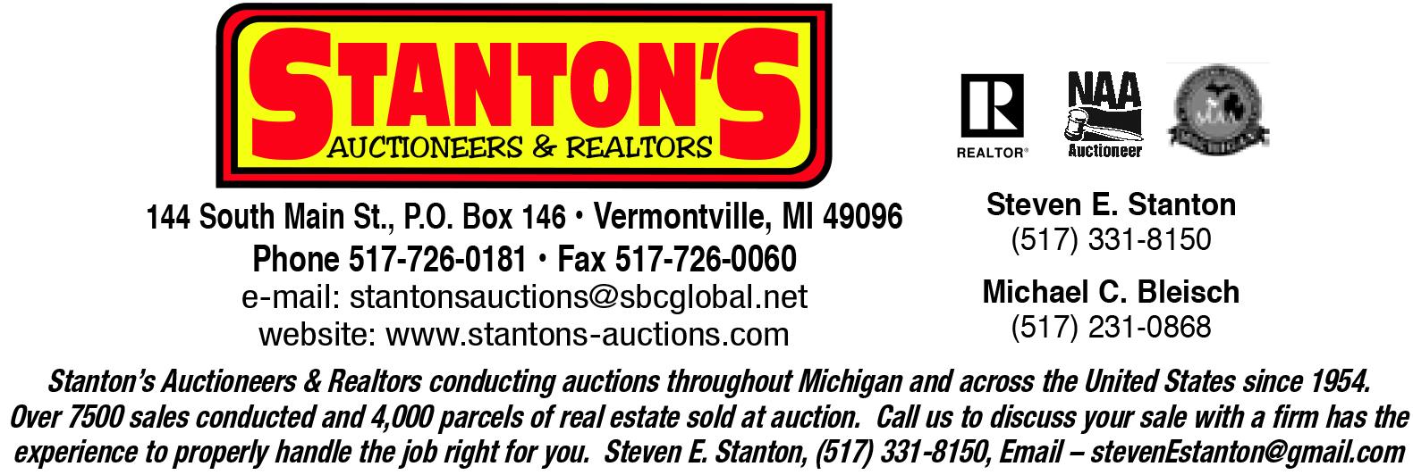 Stanton's Auctioneers & Realtors logo
