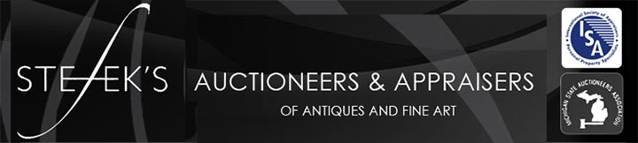 Stefek's Auctoneers & Appraisers of Antiques and Fine Art