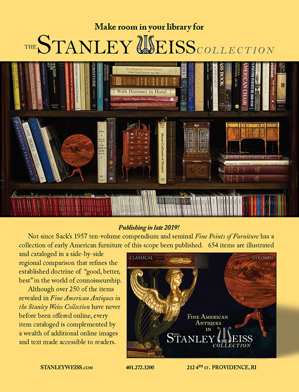 The Stanley Weiss Collection 2020 Antiques Trade Directory ad