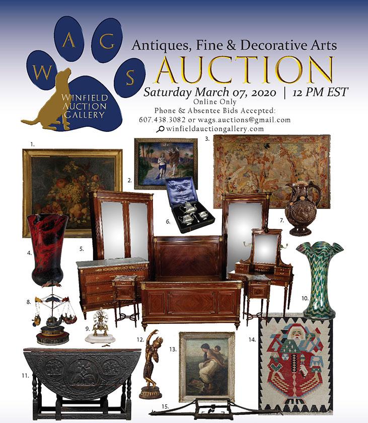 Winfield Auction Gallery Antiques, Fine & Decorative Arts Auction