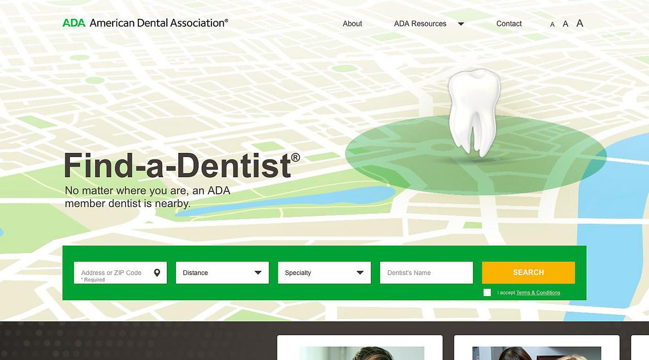 American Dental Association - Find a Dentist