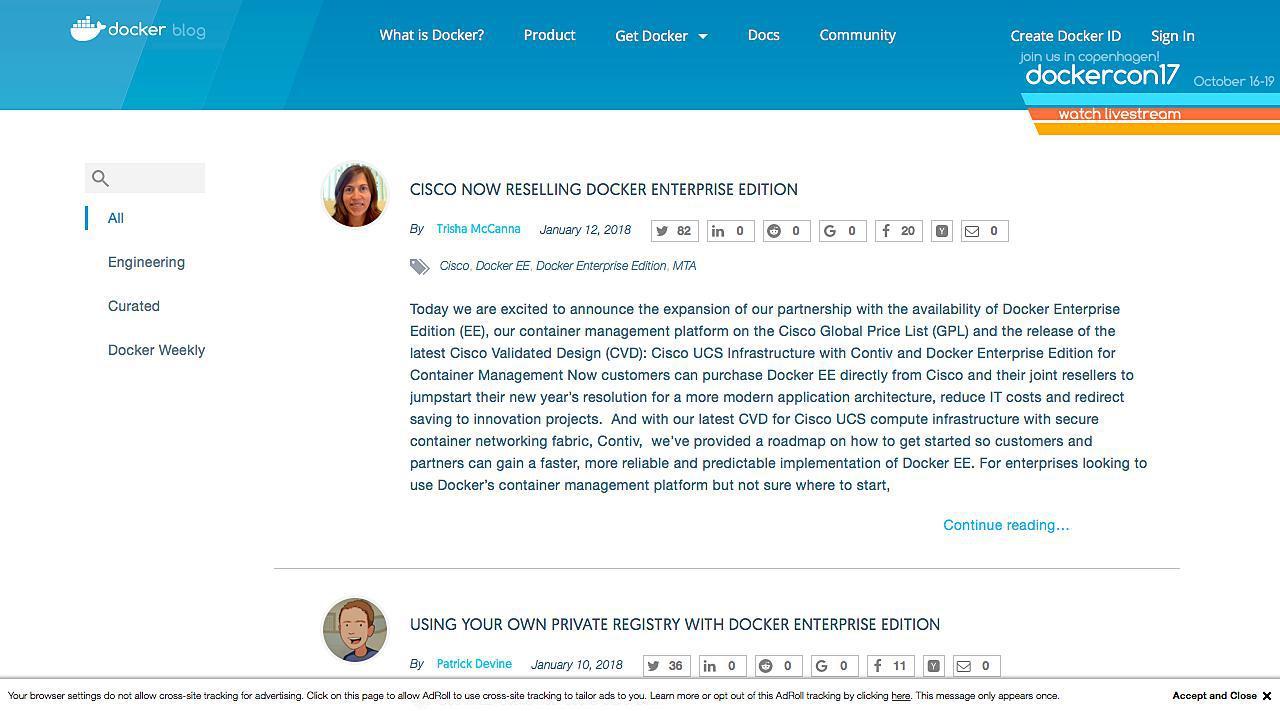 Docker Blog