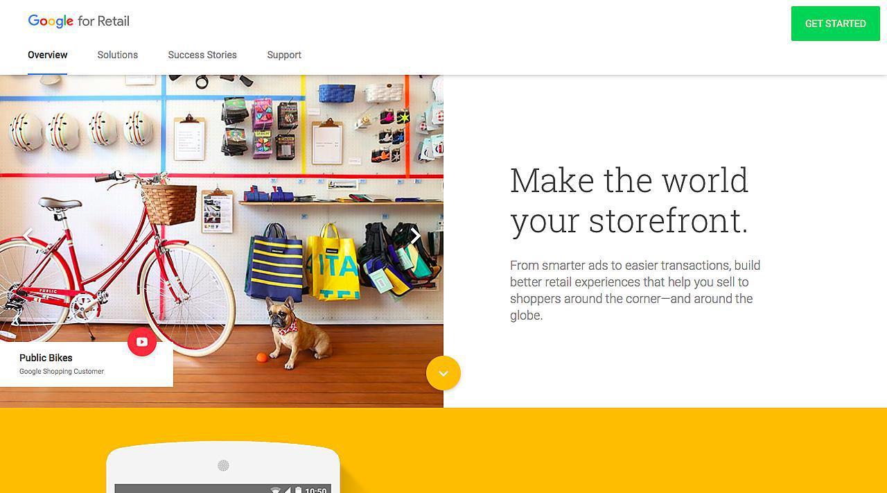 Google Retail