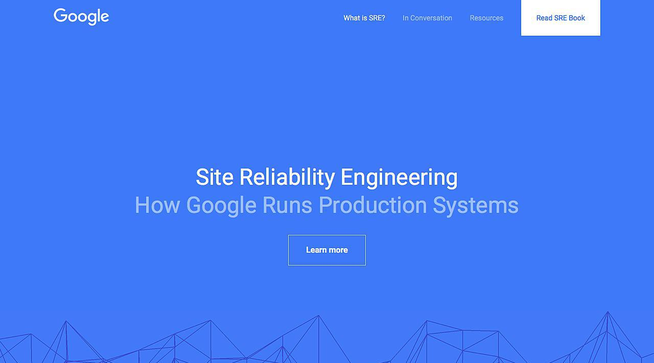 Google Site Reliability Engineering