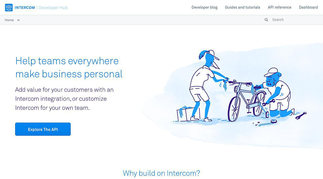 Intercom API Developer Docs