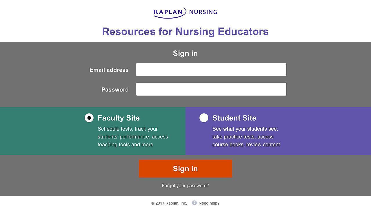 Kaplan Nursing
