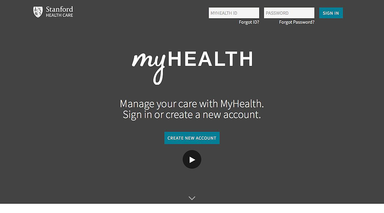 MyHealth at Stanford