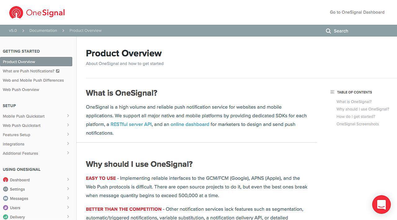 OneSignal Docs