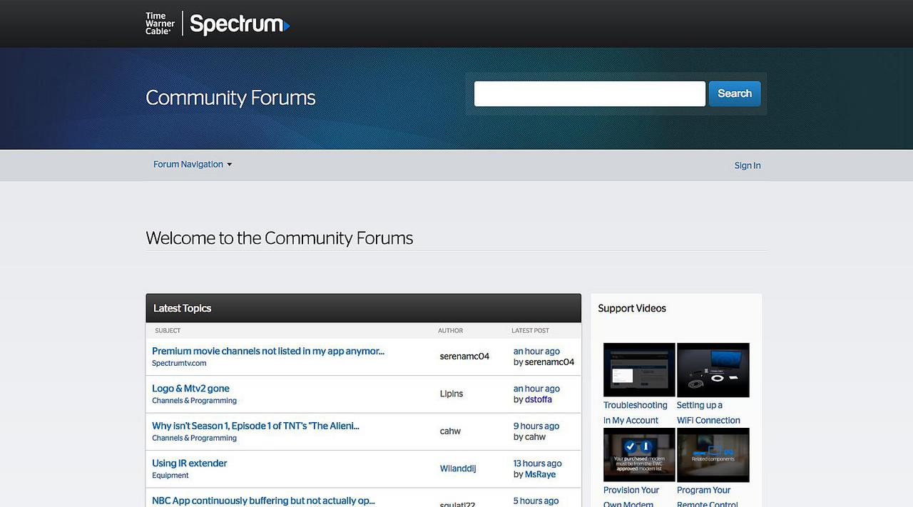 Time Warner Cable Community Forums