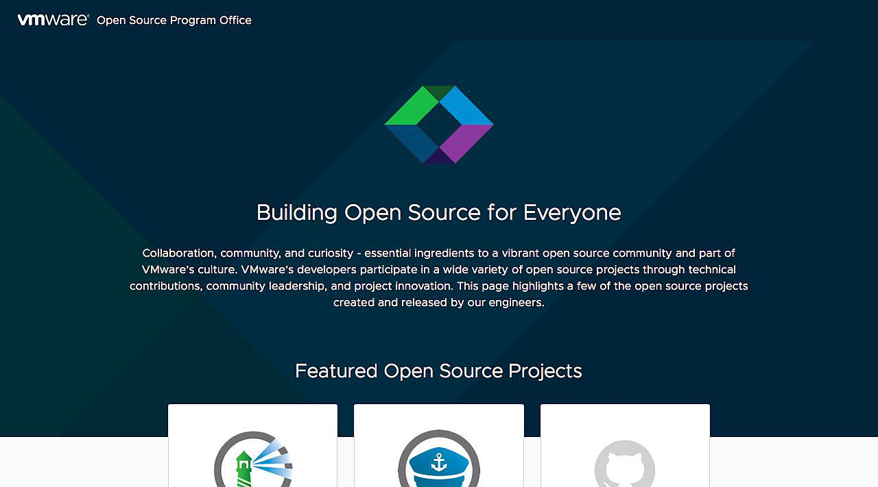 VMware Open Source Software