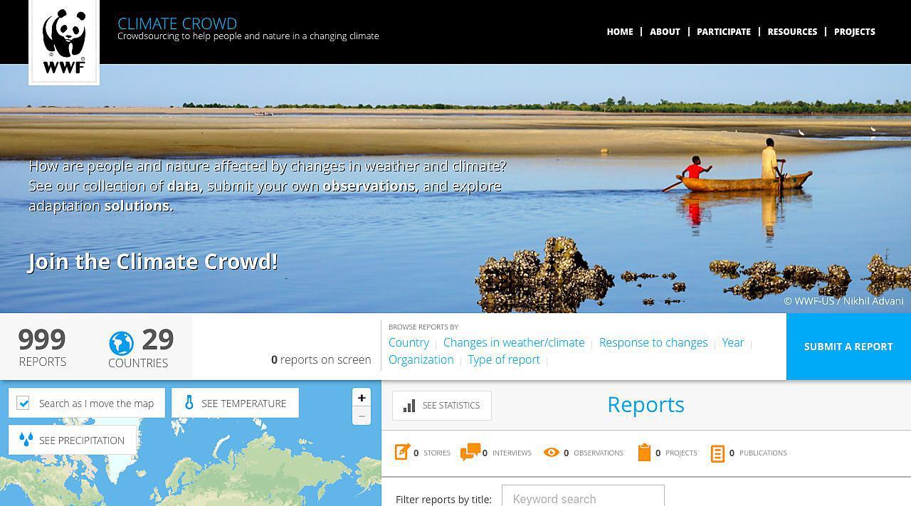 World Wildlife Fund Climate Crowd