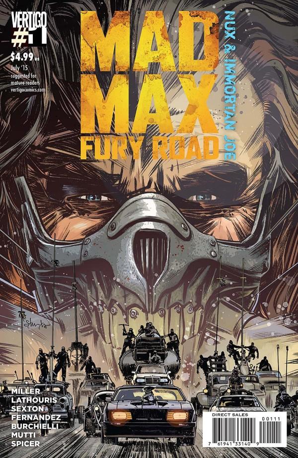'Mad Max: Fury Road – Nux & Immortan Joe #1' [REVIEW]