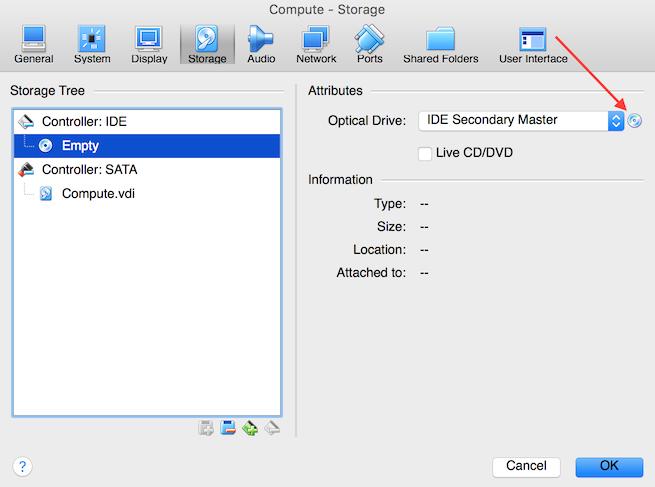 VirtualBox Compute ISO