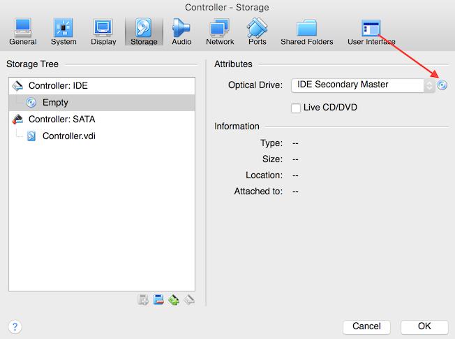VirtualBox Controller ISO