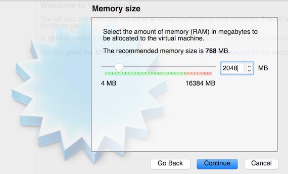 VirtualBox Memory