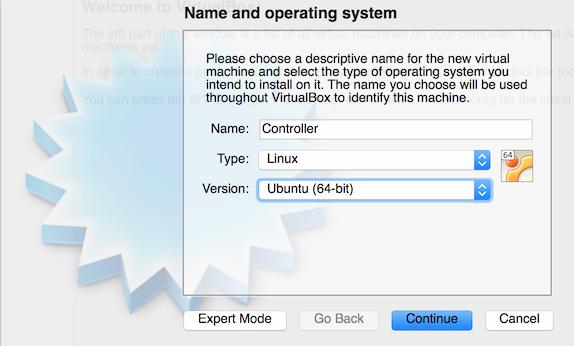 VirtualBox New Controller - Ubuntu