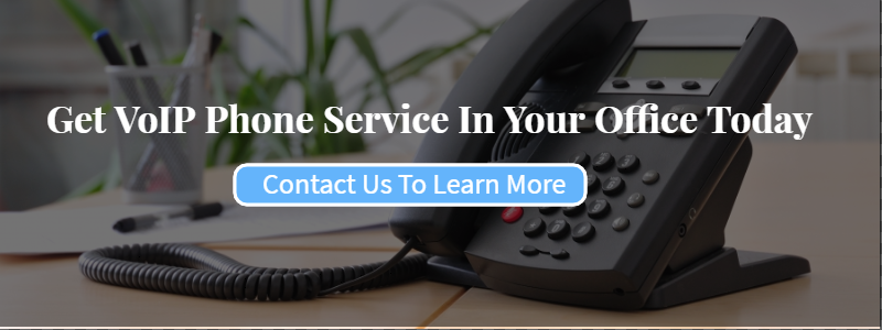 Contact us today for VoIP phone service in your office