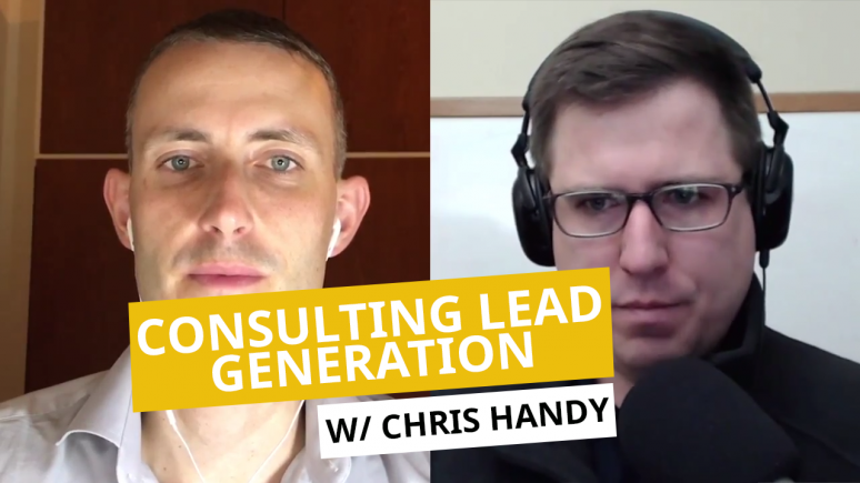 Consulting Lead Generation Chris Handy