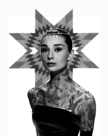 Artist Recreates Iconic Images of Celebrities Covered in Tattoos | GOOD