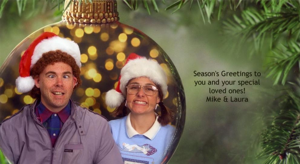 A collection of the bergeron familys funniest holiday cards good m4hsunfo