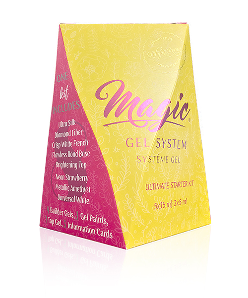 Magic Gel System Ultimate Starter Kit 15