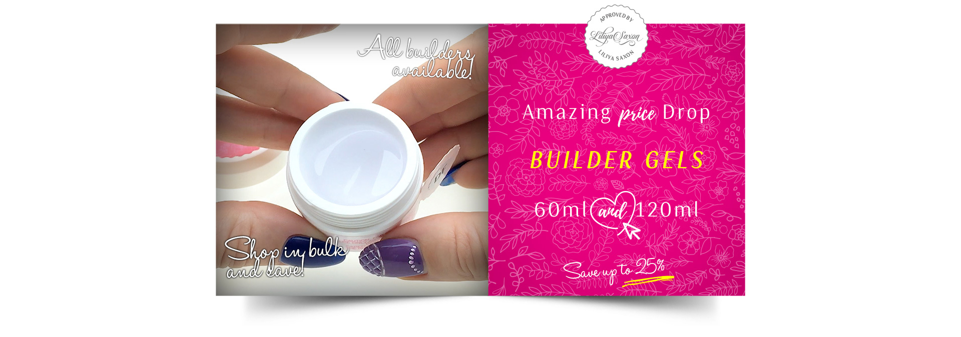 Magic Gel System, UV/LED Nail Gels