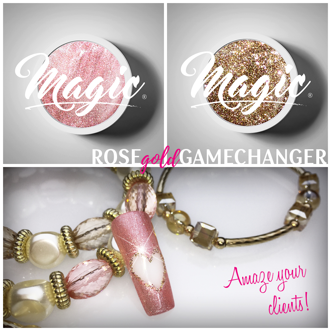 Rose Gold Gamechanger Design Kit