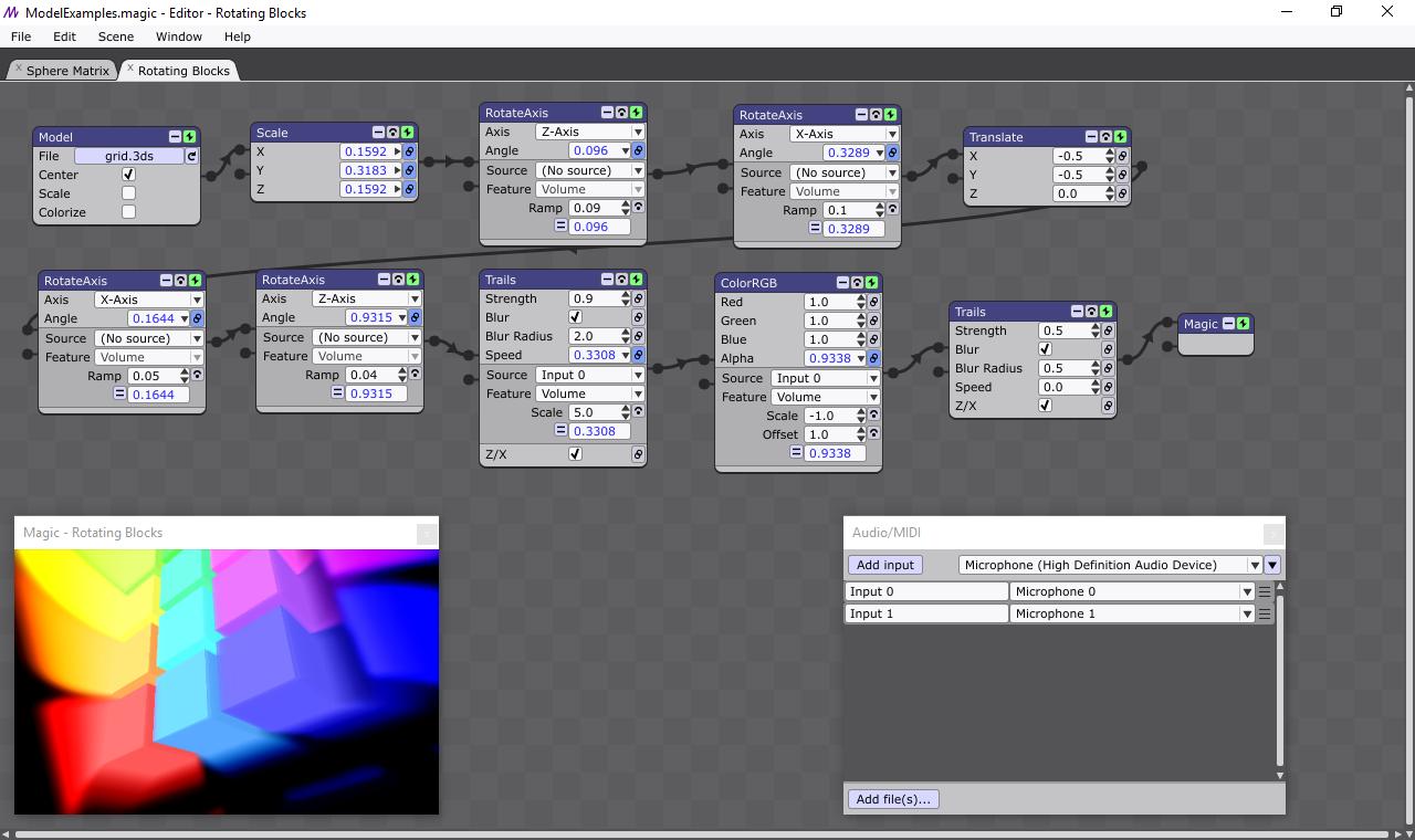 Screenshot for Magic VJ Software