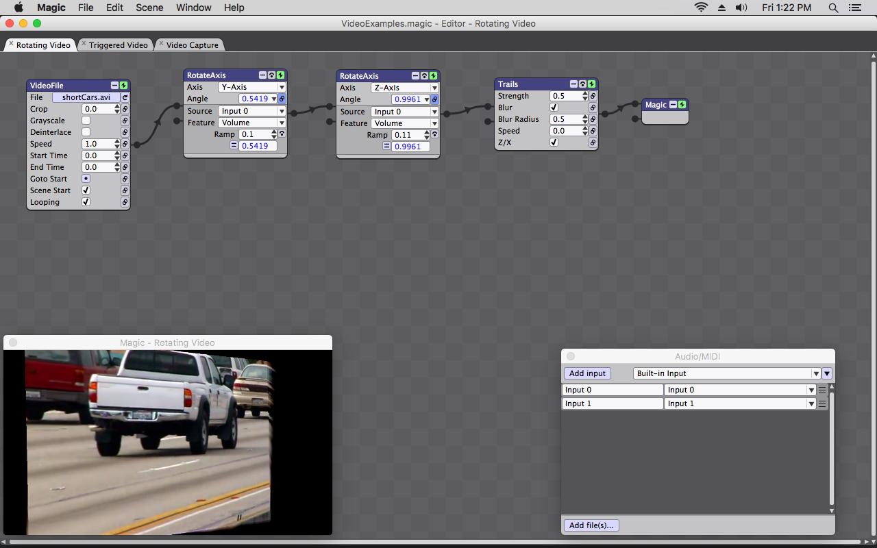 Screenshot for Magic Video Mixer Software