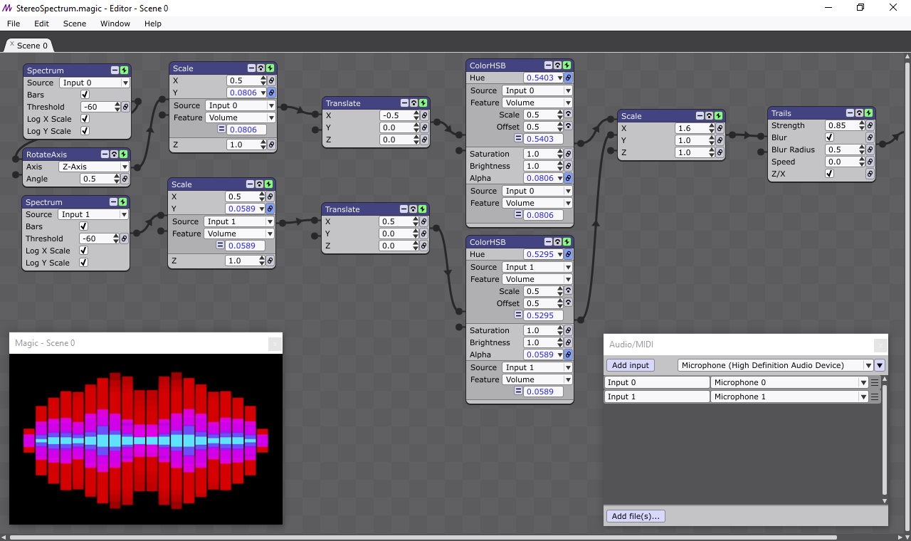Screenshot for Magic Visual DJ Software
