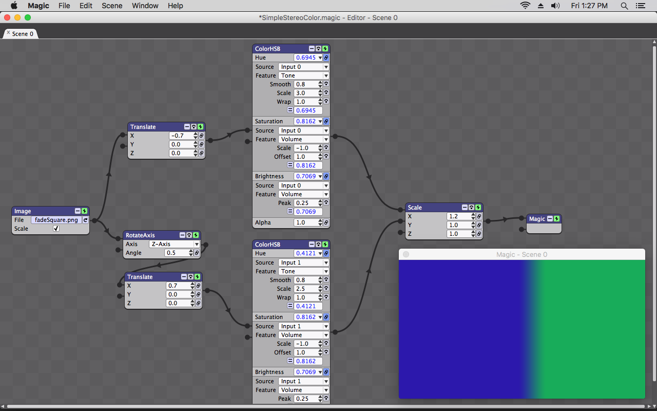 Screenshot for Magic Audio Visualizer Software