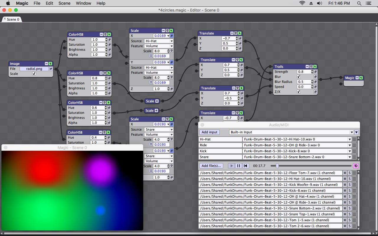 Screenshot for Magic Video Mixing Software