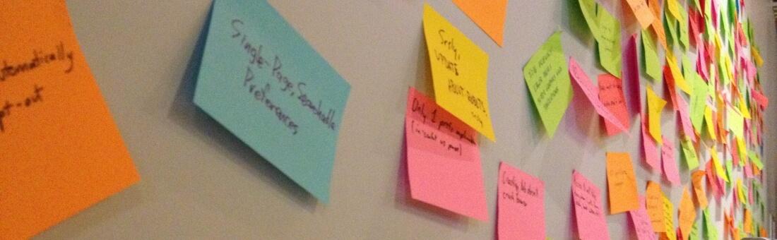 Evolution of Brainstorming at a Startup