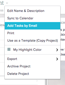 add task by email