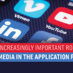 The Increasingly Important Role of Social Media in the Application Process