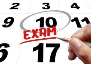 CPA Test Schedule