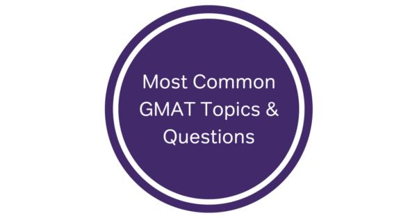 gmat topics