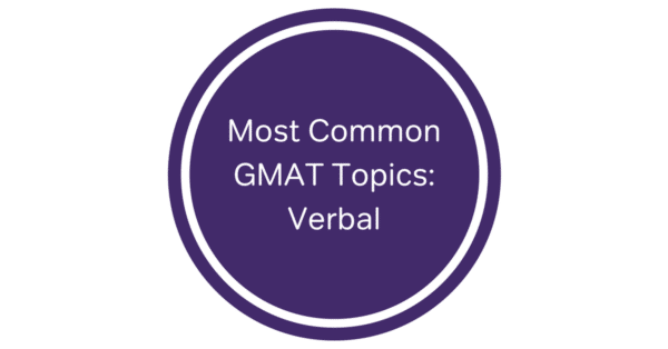 GMAT verbal question types