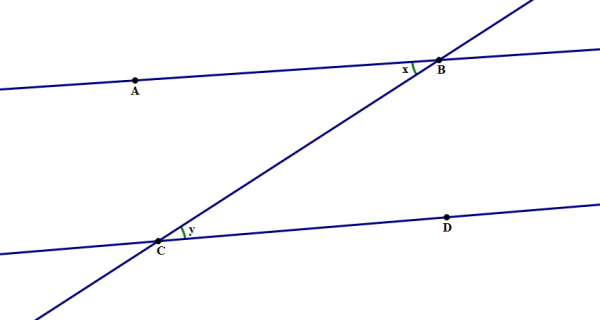 Angles and Parallel Lines on the GMAT