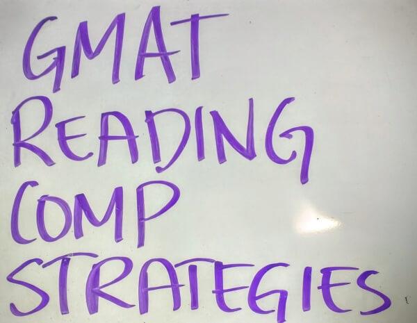 GMAT Reading Comprehension Strategies