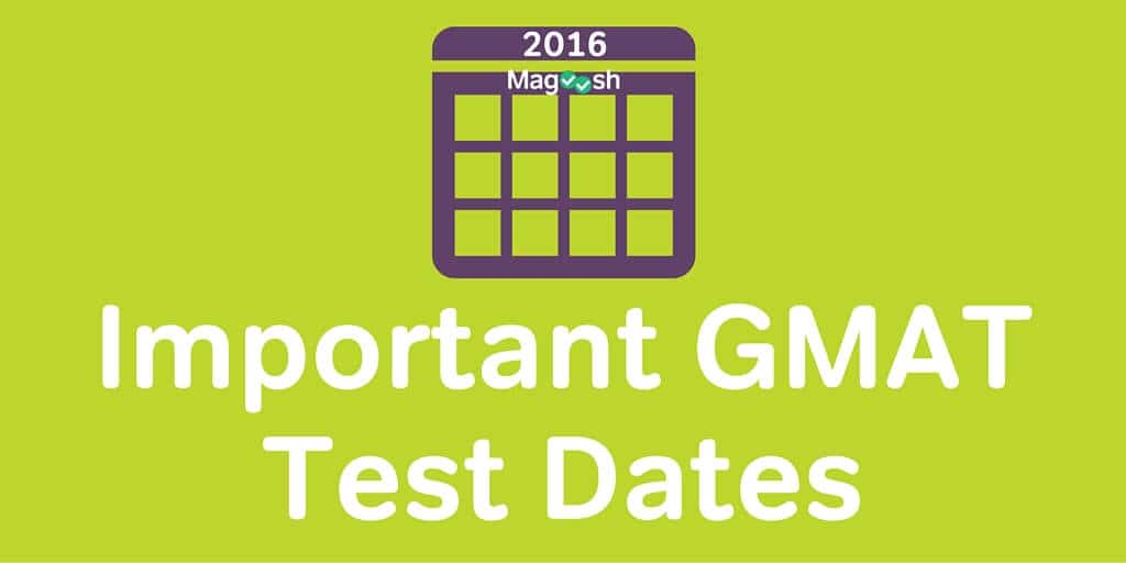 Gmat exam dates in Melbourne