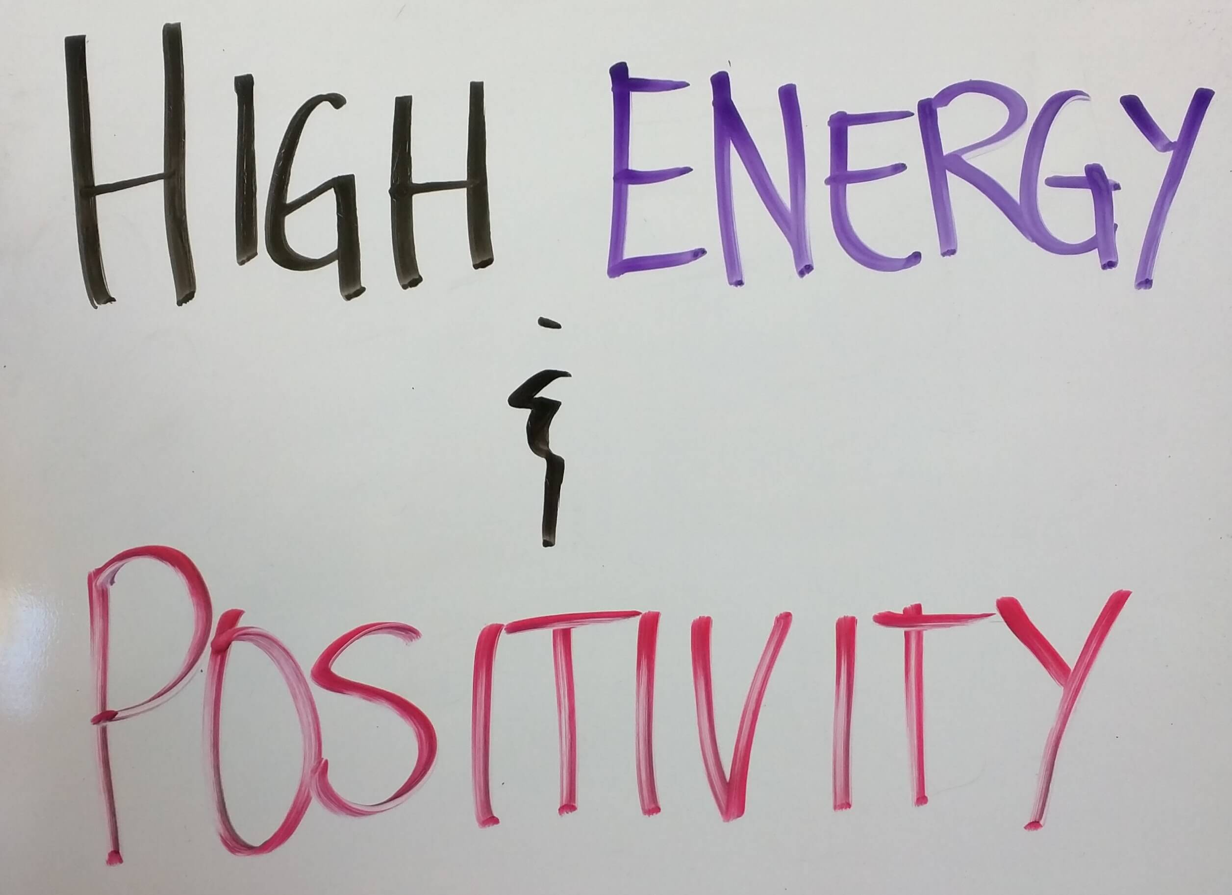 HighEnergyandPositivity