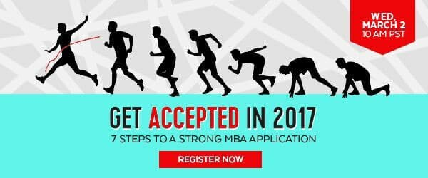 a stong MBA application