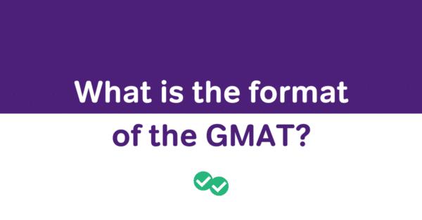 GMAT exam format