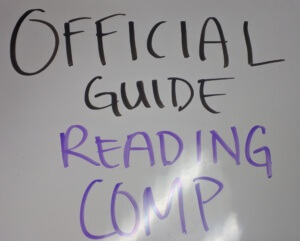Official Guide Reading Comprehension
