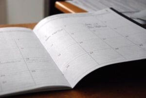 when to take the GRE calendar