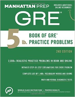 manhattan gre 5lb book 2nd edition