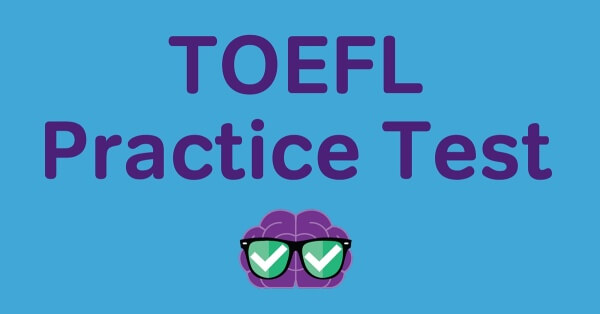 TOEFL Practice Test FB post